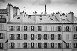 Paris Streets and Buildings