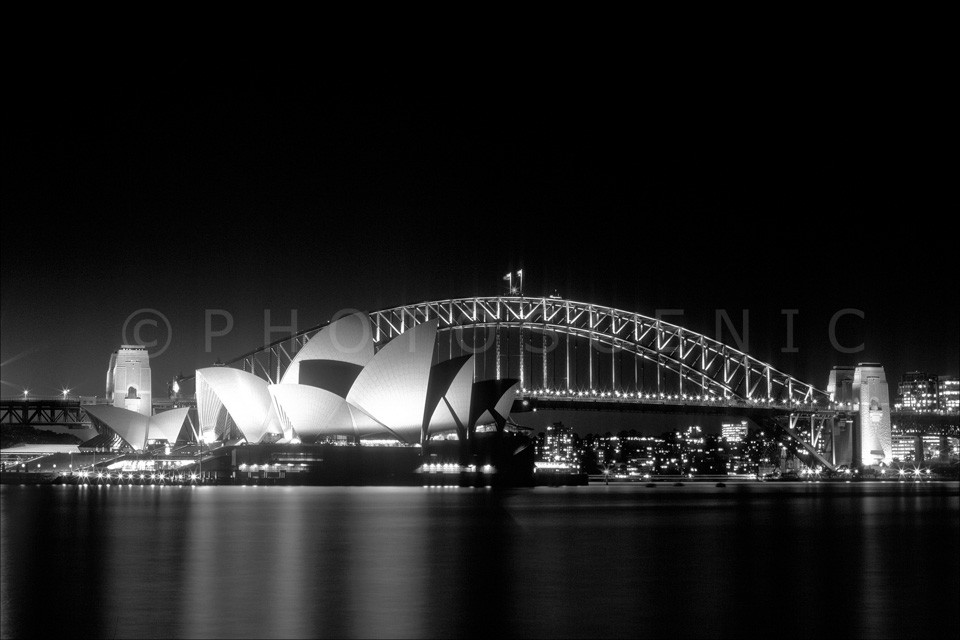 The Sydney Opera House and The Harbour Bridge