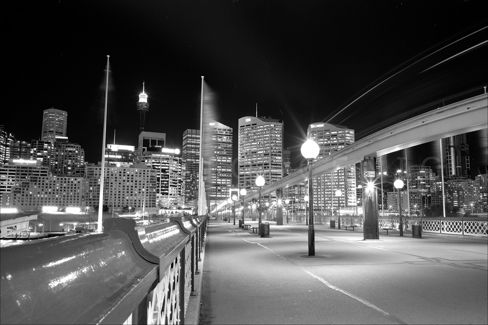 The Pyrmont Bridge,Sydney