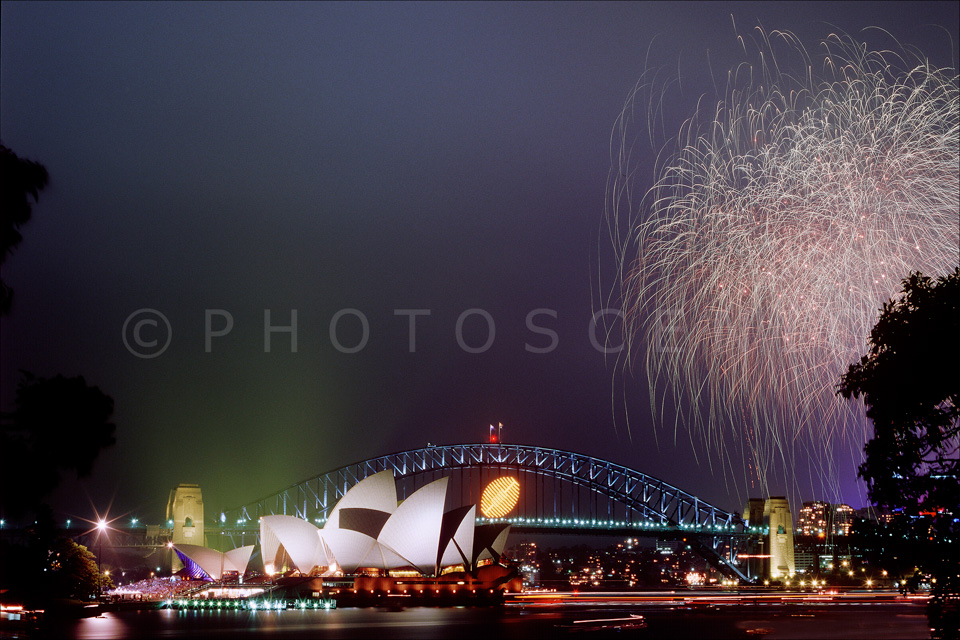 2003 Rugby World Cup Fireworks