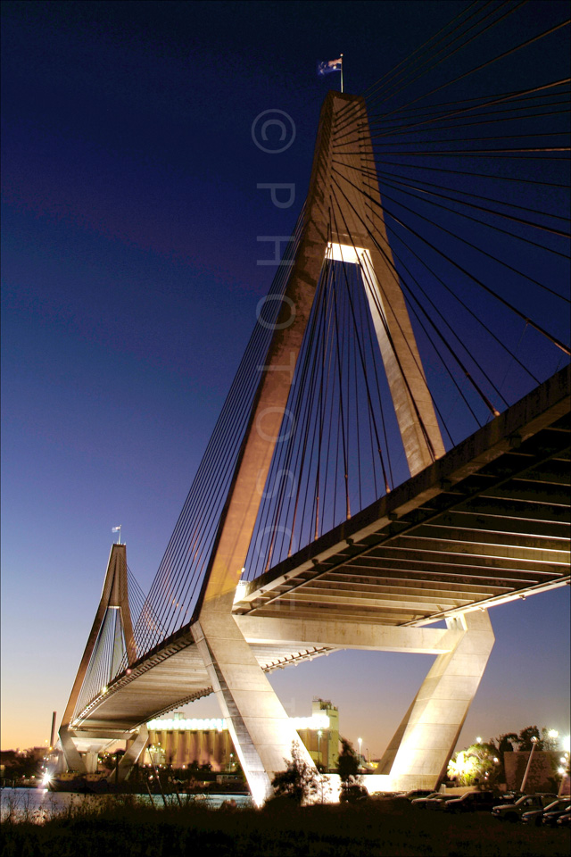 Anzac Bridge,Sydney