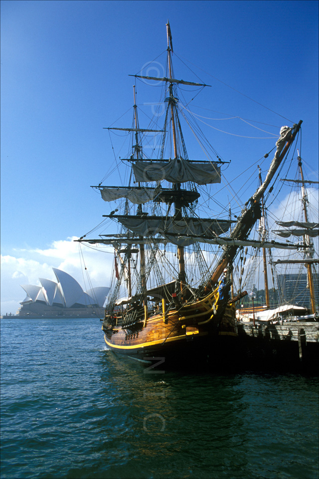 Sydney Opera House and The Bounty