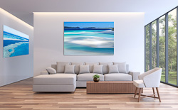 Whitehaven-Beach-in-Living-room-150-cm-and-reef-in-coridor.jpg
